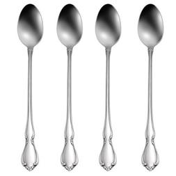 Oneida Chateau Iced Tea Spoons, Set of 4