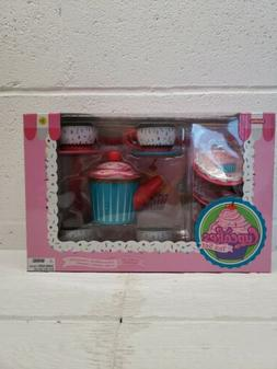 Childrens Tea Set Schylling Cupcakes Tin Tea Set Toddler Toy