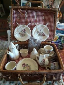 Childrens tea sets vintage