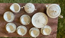 NORITAKE CHINA BAMBINA 5791 23 piece Tea Set