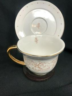 Disney china beauty and the beast Tea Cup & Saucer Set Potts