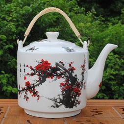 China Ceramic Teapot, Jing De Zhen Ceramic, 2.2L Big Teapot,