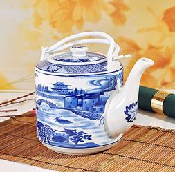China Ceramic Teapot, Jing De Zhen Ceramic, 1.8L Big Teapot,