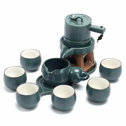 Chinese Ceramic Gongfu Tea Set Service Automatic Handmade St
