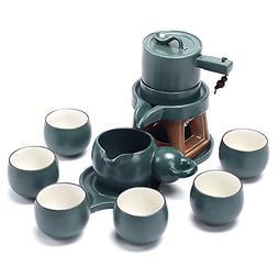 Ufine Chinese Tea Service Ceramic Hot Tea Set Kungfu Automat