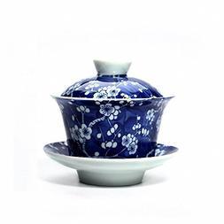 Vilight Chinese Gaiwan Porcelain Tea Cup - Housewarming Gift