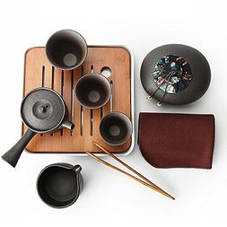 Ecomojiware Chinese Kungfu Tea Set Portable Travel Tea Set P