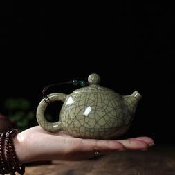 Chinese Traditional Tea Set Longquan Celadon Teapot 140ml Sm