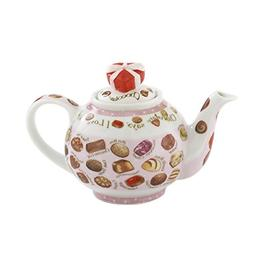 Cardew Design Chocolates 2 Cup Teapot with Heart Box Lid, 18