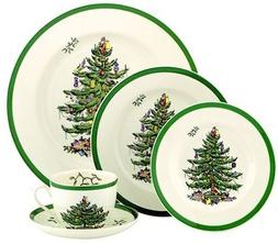 Spode Christmas Tree 5pc. Place Setting