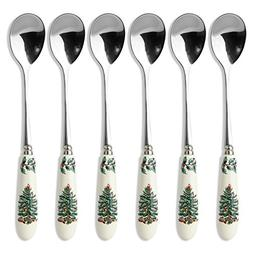 Spode Christmas Tree Tea Spoon, Set of 6
