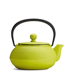 Citron Green Hobnail Cast Iron Teapot by Teavana