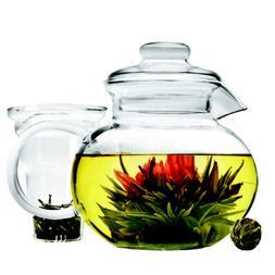 Primula Classic Glass Tea Pot with Infuser -- 4 per case.