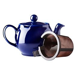The Republic Of Tea Cobalt Blue Chatsford 4 Cup Teapot