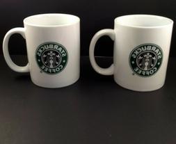 Starbucks Coffee Tea Cup Mug Siren Mermaid Green Logo White