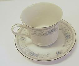 American Limoges Bridal BOUQUET Coffee / Tea Cup and Saucer