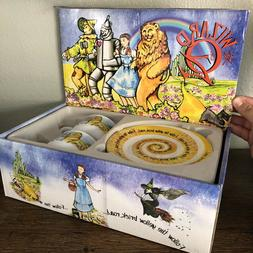 Collectible Cardew Design 2011 WIZARD OF OZ Cup & Saucer Box