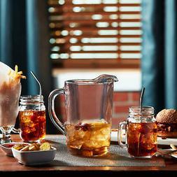 Libbey Country Folk Sweet Tea 6-Piece Glass Set with Pitcher