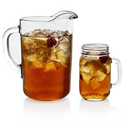 Libbey Country Folk 7-piece Sweet Tea Glass Entertainment Se