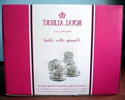 Royal Albert Country Rose Buds 9-Piece Tea Set