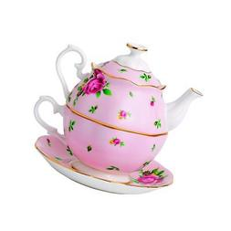 Royal Albert New Country Roses Vintage Single Serving Teapot