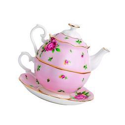 Royal Albert New Country Roses Vintage Single Serving Teapot