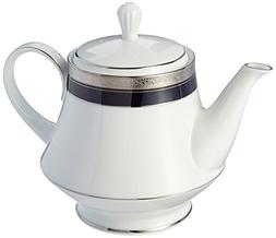 Noritake Crestwood Cobalt Platinum Tea Pot