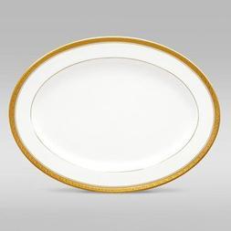 Noritake Crestwood Gold 16-Inch Oval Platter