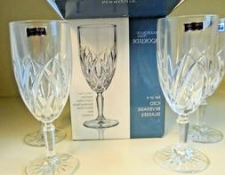 Marquis by Waterford Crystal Brookside Set of 4 Iced Tea Wat