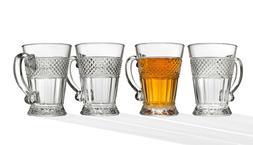 Crystal Tea Coffee Mug Set of 4 | Godinger