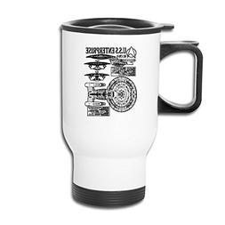Cups Insulation White STAR TREK - NCC Captain Picard Travel