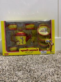 Curious George Tin Tea Set  by Schylling - New in box