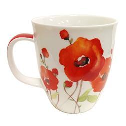 SVIV Curve New Bone China Coffee or Tea Mug, 16oz