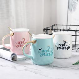 Cute <font><b>Mermaid</b></font> Coffee Mug with Glod Fish T