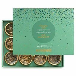 DAVIDsTEA Organic Tea Sampler Caffeine-Free Loose Leaf Tea G