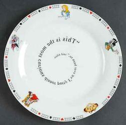 Cardew Design Alice in Wonderland's Cafe Dinner Plate 843059