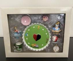 Disney Alice in Wonderland Mini Resin Tea Set VINTAGE in Ori