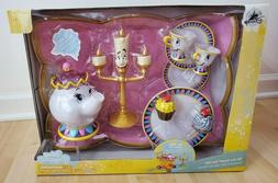 """DISNEY  BEAUTY AND THE BEAST """"BE OUR GUEST"""" SINGING TEA CART"""