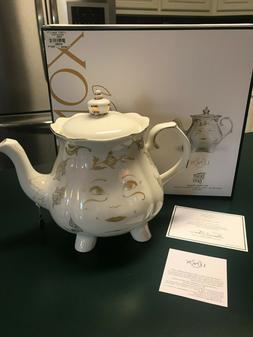 Lenox Disney Beauty and the Beast Mrs. Potts Teapot with Lid