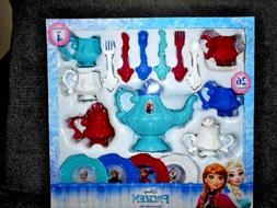 Disney Frozen Dinnerware Set/Tea Set 26 Piece Service For 4