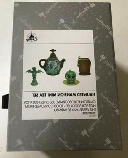 disney parks haunted mansion mini tea set