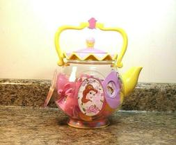 Disney Princess Belle Tea Set 17 Piece Set Pretend Play NEW