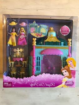 Disney Princess Royal Tea Party Play Set with PVC Figures Sl