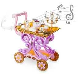 """DISNEYSTORE  BEAUTY AND THE BEAST """"BE OUR GUEST"""" SINGING TEA"""