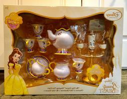 "DISNEYSTORE  BEAUTY AND THE BEAST ""BE OUR GUEST"" SINGING TEA"