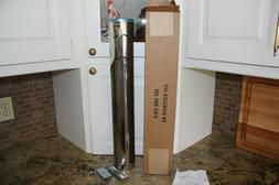 Dispense Rite Cup Pull Dispenser Stainless Model ADJ-20 New