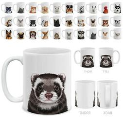 Dog Cat Design 11 OZ Mug Creative Ceramic Coffee Water Porce