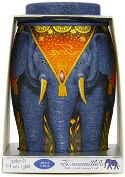 Williamson Earl Grey Elephant Tea Caddy - Includes 40 Kenyan