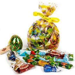 Easter Candy and Tea Set Russian Sweets Mix Chocolate, Hard