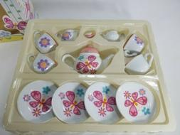 Easter Porcelain Tea Set * 13 piece Children's Kitchen Play